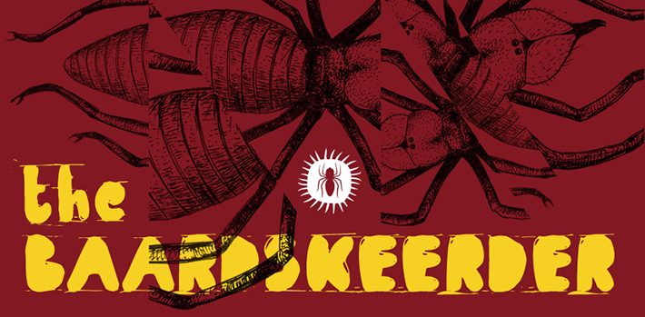Baardskeerder masthead design by Mea Waffle